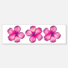 Tropical Flower Bumper Bumper Bumper Sticker