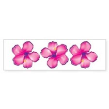 Tropical Flower Bumper Stickers