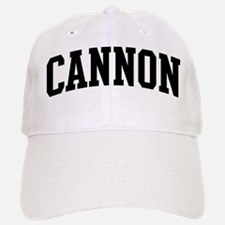 CANNON (curve-black) Baseball Baseball Cap