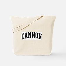 CANNON (curve-black) Tote Bag