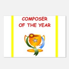 composer Postcards (Package of 8)