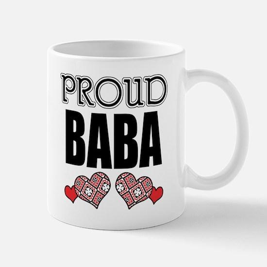 Proud BABA (2) Mug