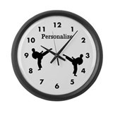 Karate Wall Clocks