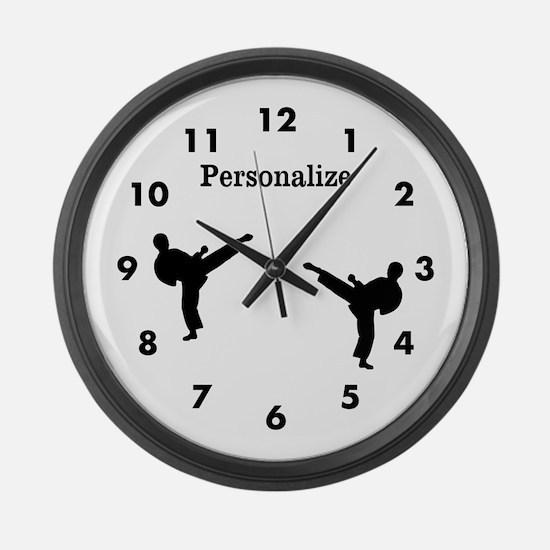 Kicker Large Wall Clock
