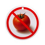 No Tomato Ornament (Round)