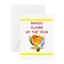 banjo Greeting Cards