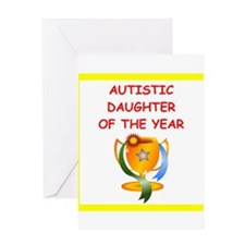 autistic daughter Greeting Cards