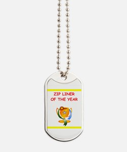zip line Dog Tags