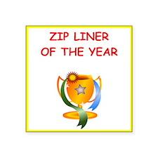 zip line Sticker