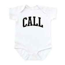 CALL (curve-black) Infant Bodysuit