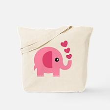 Unique Baby elephant Tote Bag