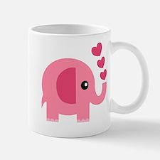 Cute Pink elephants Mug