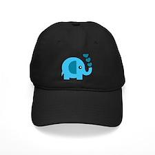 Adorable Blue Elephant Baseball Hat