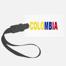 Colombia tricolor name Luggage Tag