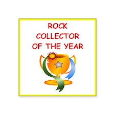 rock collector Sticker