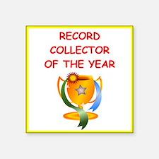 record collector Sticker