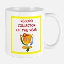 record collector Mugs