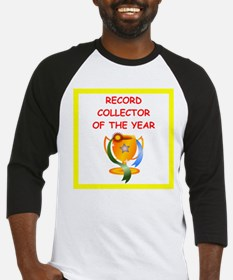 record collector Baseball Jersey