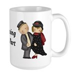Dressing the part Large Mug