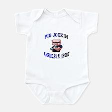 Pig Jockin Infant Bodysuit