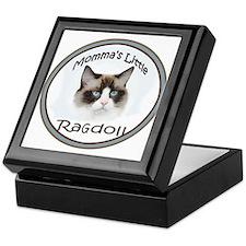 Momma's Little Ragdoll Keepsake Box