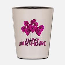 Happy Birthday-50 Shot Glass