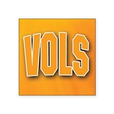 "Cute Tennessee vols Square Sticker 3"" x 3"""