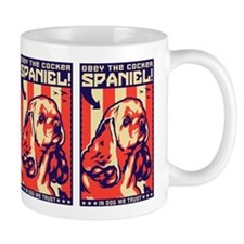 Obey the Cocker Spaniel! USA Coffee Mug