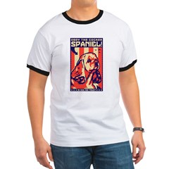 Obey the Cocker Spaniel! USA Ringer T