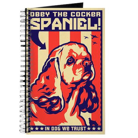 Cocker Spaniel World Domination Journal