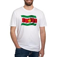 Wavy Suriname Flag Shirt