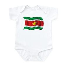 Wavy Suriname Flag Onesie
