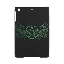 Pretty green pentacle iPad Mini Case