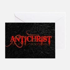 antichrist Greeting Card