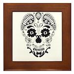 Skull decorative Framed Tile