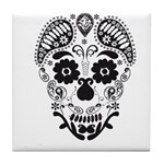 Skull decorative Tile Coaster