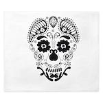 Skull decorative King Duvet