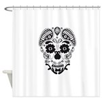 Skull decorative Shower Curtain