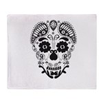 Skull decorative Throw Blanket