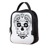 Skull decorative Neoprene Lunch Bag