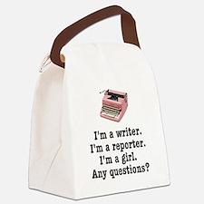 pinktypewriterback.jpg Canvas Lunch Bag