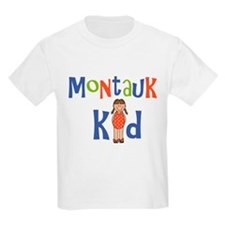 Montauk Kid Girls T-Shirt