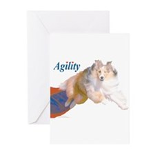 Agility Sheltie! NoteCards (6)