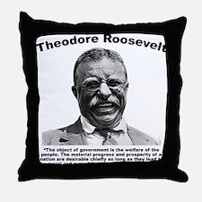 TRoosevelt: Welfare Throw Pillow