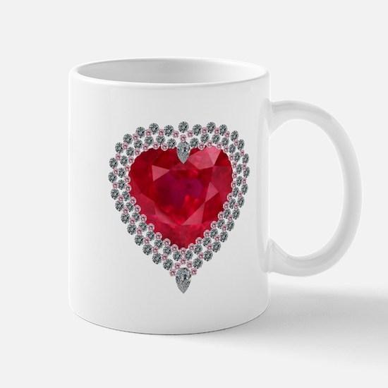 Heart of Love Mugs