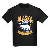 Alaska Kids T-shirts (Dark)