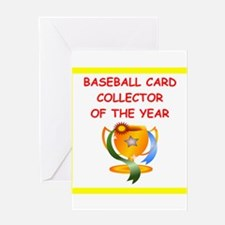 baseball cards Greeting Cards