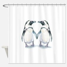 Penguin Pals Shower Curtain