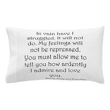 Mr. Darcy's Proposal from Jane Austen' Pillow Case