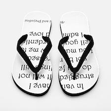 Mr. Darcy's Proposal from Jane Austen's Flip Flops